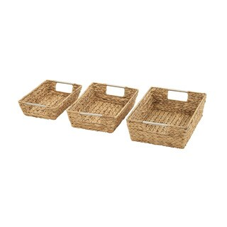 Magnificently Crafted Sea Grass Baskets (Set of 3)