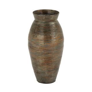 Havenside Home Buckroe Lacquer Bamboo Vase