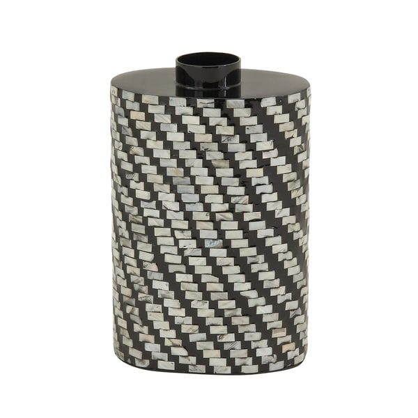 Chic Lacquer Inlay Vase