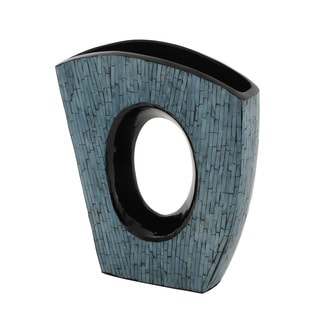 Elegant Ceramic Inlay Vase