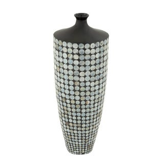 Timeless Ceramic Lacquer Inlay Vase