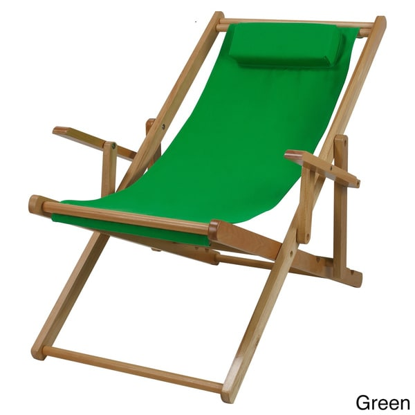 Canvas Patio Sling Chair   Free Shipping Today   Overstock.com   17289415