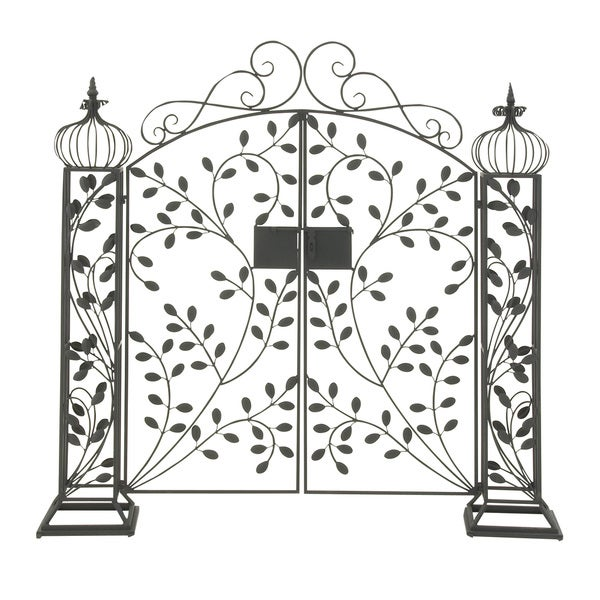 Captivating Metal Garden Gate