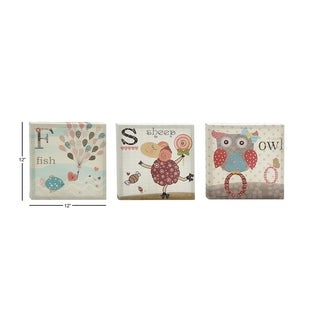Simply Cool Canvas Art (Set of 3)