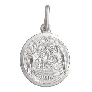 Decadence Sterling Silver Baptism Necklace