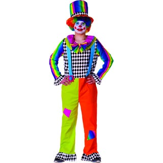 Dress Up America Men's Jolly Clown Costume