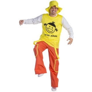 Dress Up America Men's Purim Jolly Man Costume