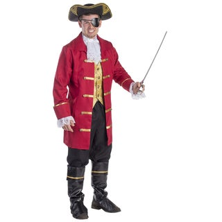Dress Up America Elite Men's Pirate Costume