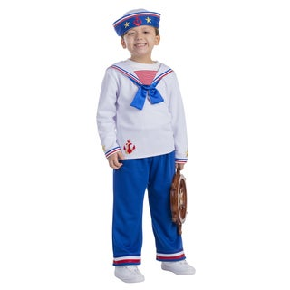 Dress Up America Boys' Sailor Boy Costume (5 options available)