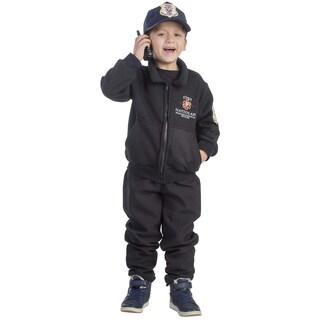 Dress Up America Boys' 'Hatzolah Rescuer' Costume