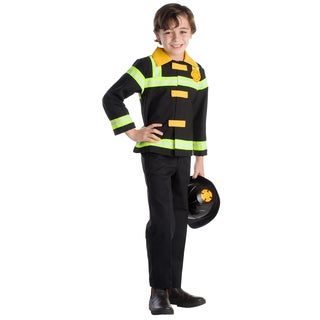 Dress Up America Boys' Fire Chief Role Play Set Costume