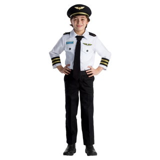Dress Up America Boys' Pilot Role Play Set Costume