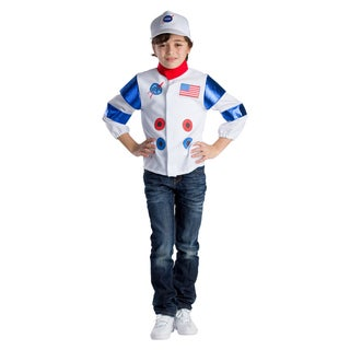 Dress Up America Boys' Astronaut Role Play Set