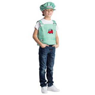 Dress Up America Boys' Engineer Role Play Set Costume