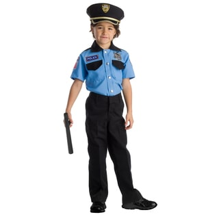 Dress Up America Boys' Police Chief Role Play Set Costume