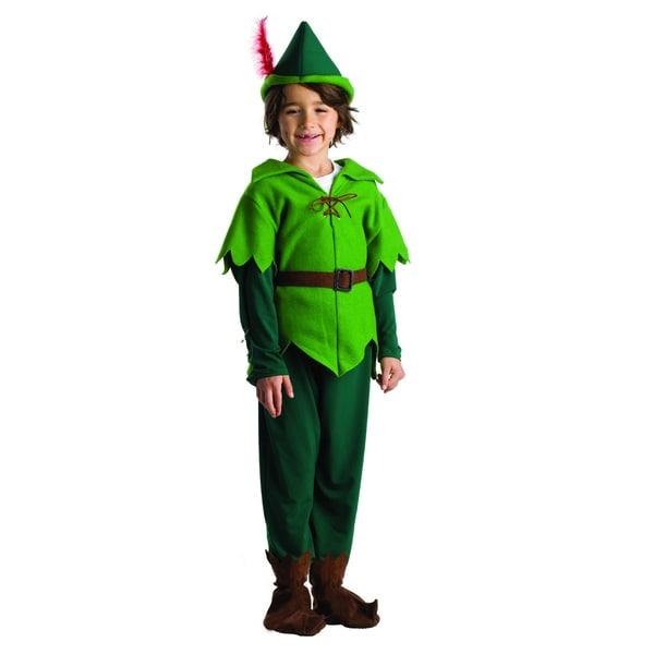 Shop Dress Up America Boysu0027 Peter Pan Costume   Free Shipping On Orders  Over $45   Overstock   10160377