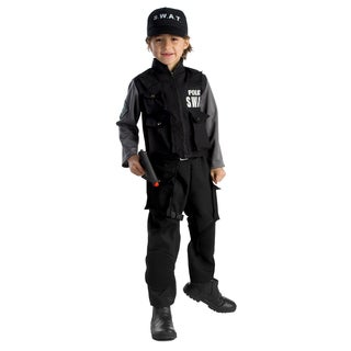 Dress Up America Boys' Jr. SWAT Team Costume (4 options available)