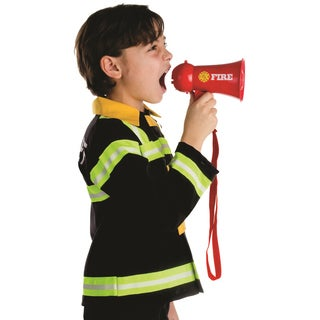 Dress Up America Boys' Fire Fighter Megaphone Costume