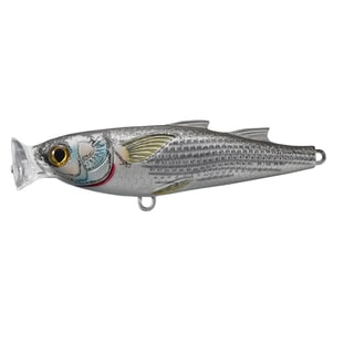 LiveTarget Mullet Popper Natural/ Matte no. 4