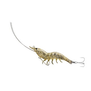 LiveTarget Shrimp Hybrid Bait Glass Shrimp no. 4/ no. 2