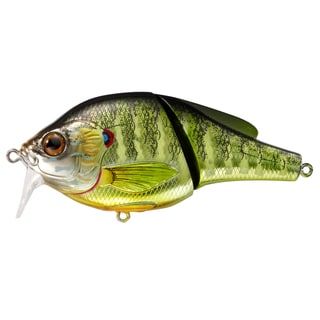 LiveTarget Pumpkinseed Wakebait Metallic/ Gloss no. 4