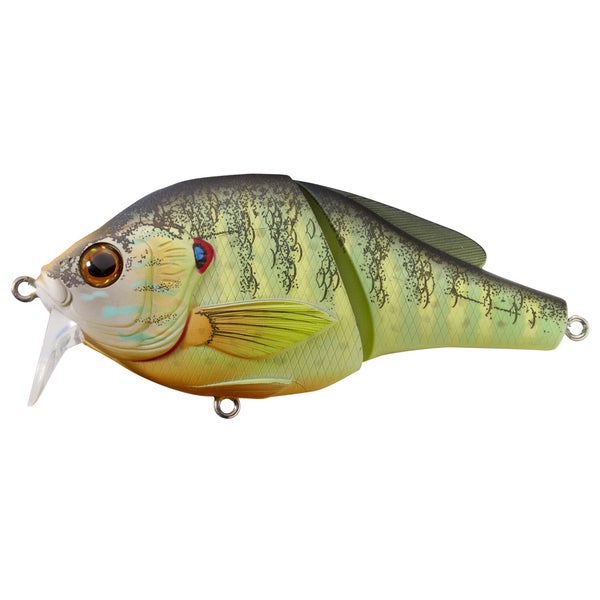 LiveTarget Pumpkinseed Wakebait Natural/ Matte no. 4