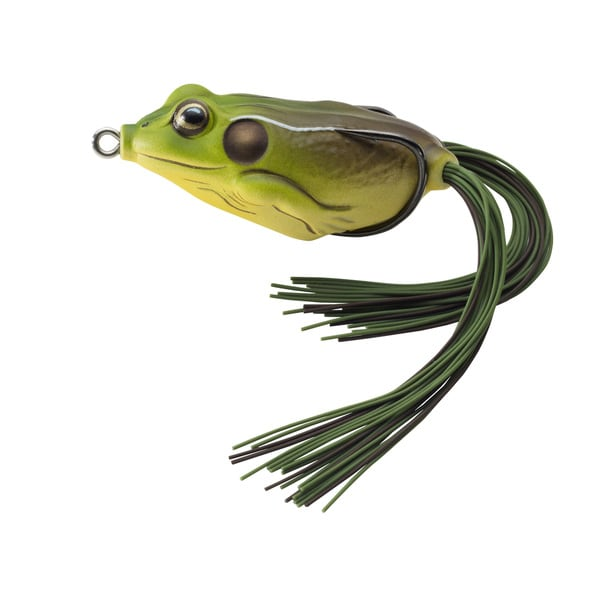 LiveTarget Frog Hollow Body Green/ Brown 1/ 0
