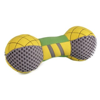 Bark-active Neoprene Mesh Flotation Bone Fetch Dog Toy