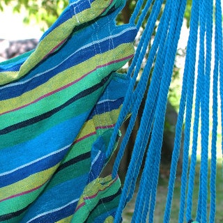 Adeco Colorful Stripe Hammock Chair