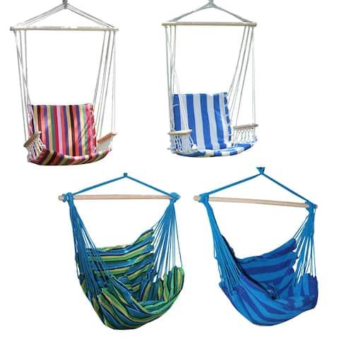 Adeco Hammock Tree Hanging Suspended 17-inch Outdoor/ Indoor Chair