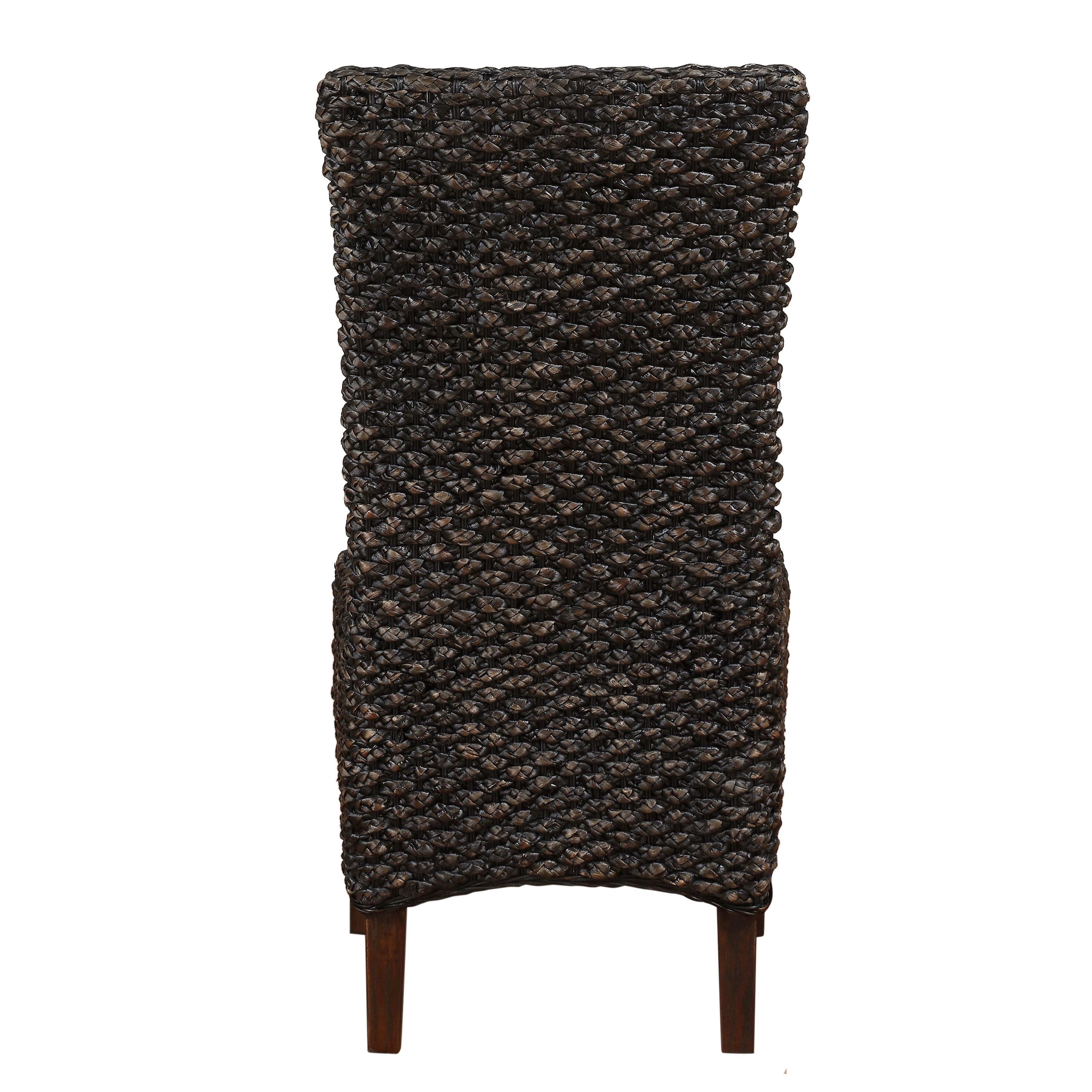 Seagrass Dining Chair Set Of 2 Overstock 10160532