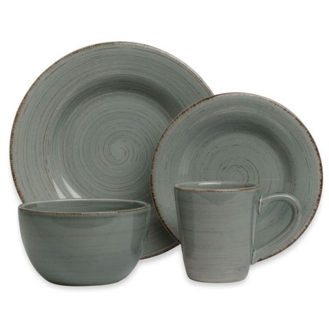 Tag Sonoma Slate Blue Dinnerware 16-piece Set