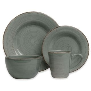 Tag Sonoma Slate Blue Dinnerware 16-piece Set