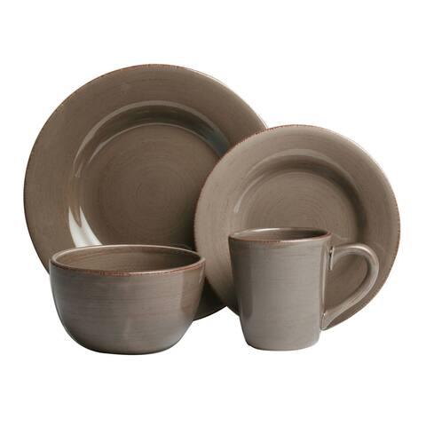 Tag Sonoma Warm Gray Dinnerware 16-piece Set