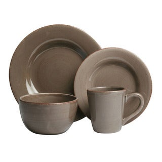 Tag Sonoma Warm Gray Dinnerware 16-piece Set