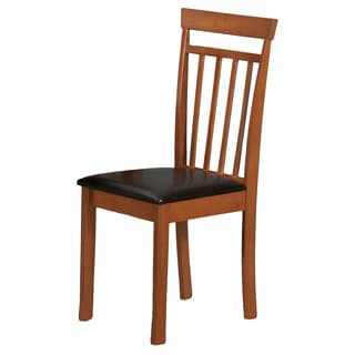 Wooden Light Cherry Dining Chair (Set of 2)