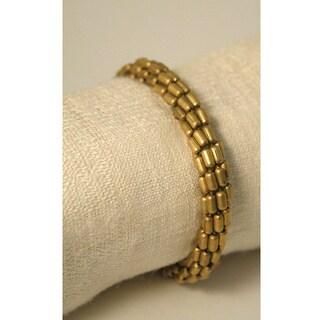 Handmade Multi-strand Stretchy Bracelet (India)