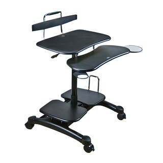 Clearance Cotytech Ergonomic Sit Stand Computer Desk