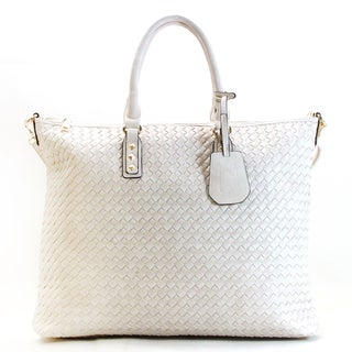 Chasse Wells Visite Woven Overnight Bag