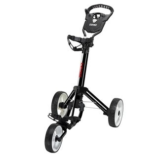 Easy Fold Black Golf Push Cart