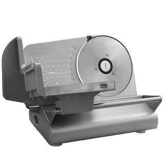Knox Stainless Steel Meat Slicer with 7.5-Inch Smooth Blade