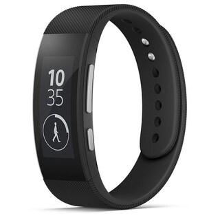 Sony SmartBand Talk SWR30 Waterproof Smart Band (Black)