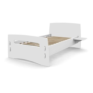 Legare Kids Furniture Classic Collection Series White Twin Bed