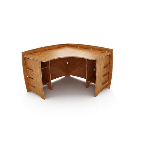 Legare Furniture Amber Bamboo Corner Desk