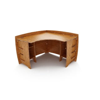 Legare Furniture Amber Bamboo Corner Desk