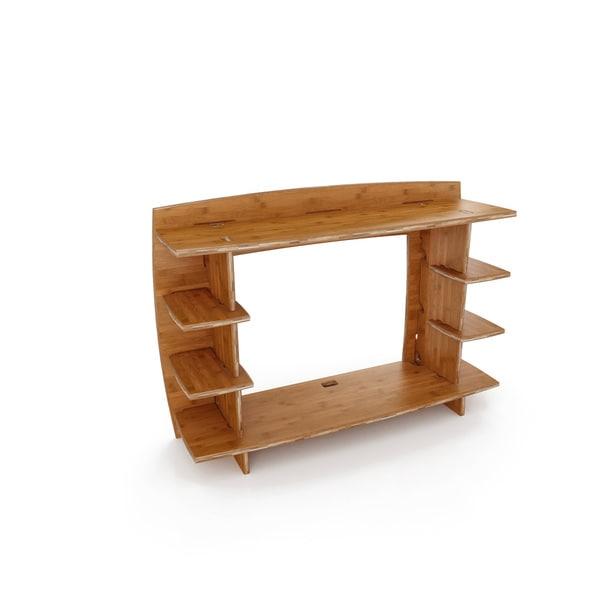 Amazing Legare Furniture 36 Inch Amber Bamboo Desk Hutch