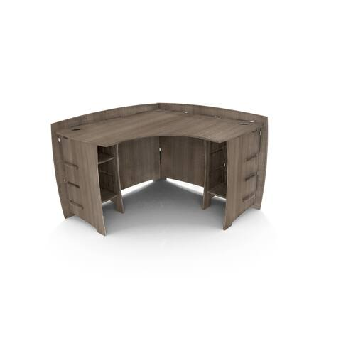 Legare Furniture 47-inch Grey Driftwood Corner Desk