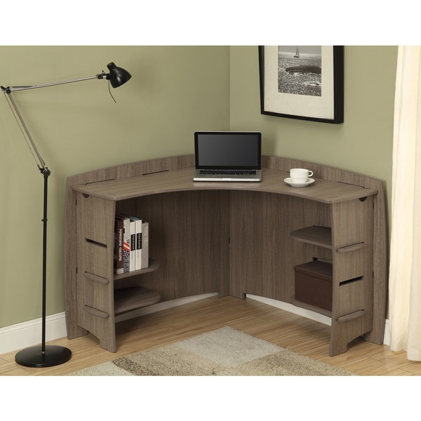 Beautiful Legare Furniture 47 Inch Grey Driftwood Corner Desk   Free Shipping Today    Overstock.com   17289926