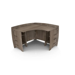 Legare Furniture 47-inch Grey Driftwood Corner Desk