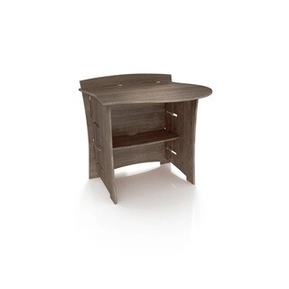 Legare Furniture 31-inch Peninsula Grey Driftwood Desk Attachment